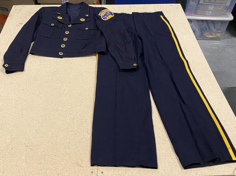Vintage American Legion Dress 1919 Uniform Eureka California