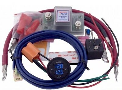 True Utv Sbi 15Cm Dual Battery Connect And Monitor Kit