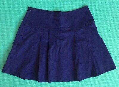 Königsblauer Faltenrock (Schulmädchen-Stil) In Größe S ()