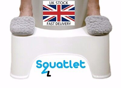 Toilet Squatty Stool Natural Potty Squat Aid For Constipation Piles Relief