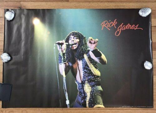 "Vintage Rick James 1983 Poster ORIGINAL NEW 24"" x 35.5"""