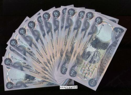 100,000 IRAQI DINAR 20 x 5,000 UNCIRCULATED CURRENCY 20 x 5000