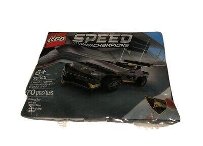 LEGO Speed Champions Lamborghini NEW in PKG 30342