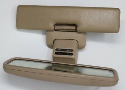 INFINITI Q45 INTERIOR REAR VIEW MIRROR TAN POWERED 1994
