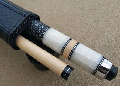 NEW McDermott Star Series S25 Pool Cue / White Pearl Inlays / Tiger Everest Tip