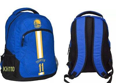 Nba Golden State Warriors Thompson  11 Action Backpack  Work School  Travel