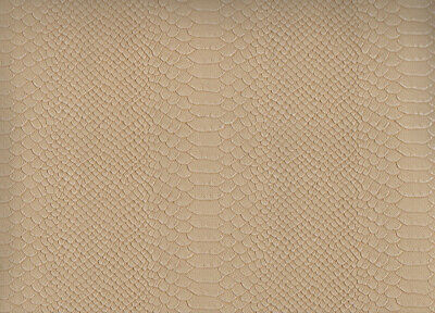 Offcut Leatherette 66x45 CM Caiman Beige - Ki-Sign