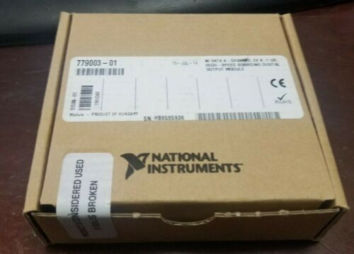 National Instruments NI9474 8 Channel High Speed Sourcing Digital Output Module