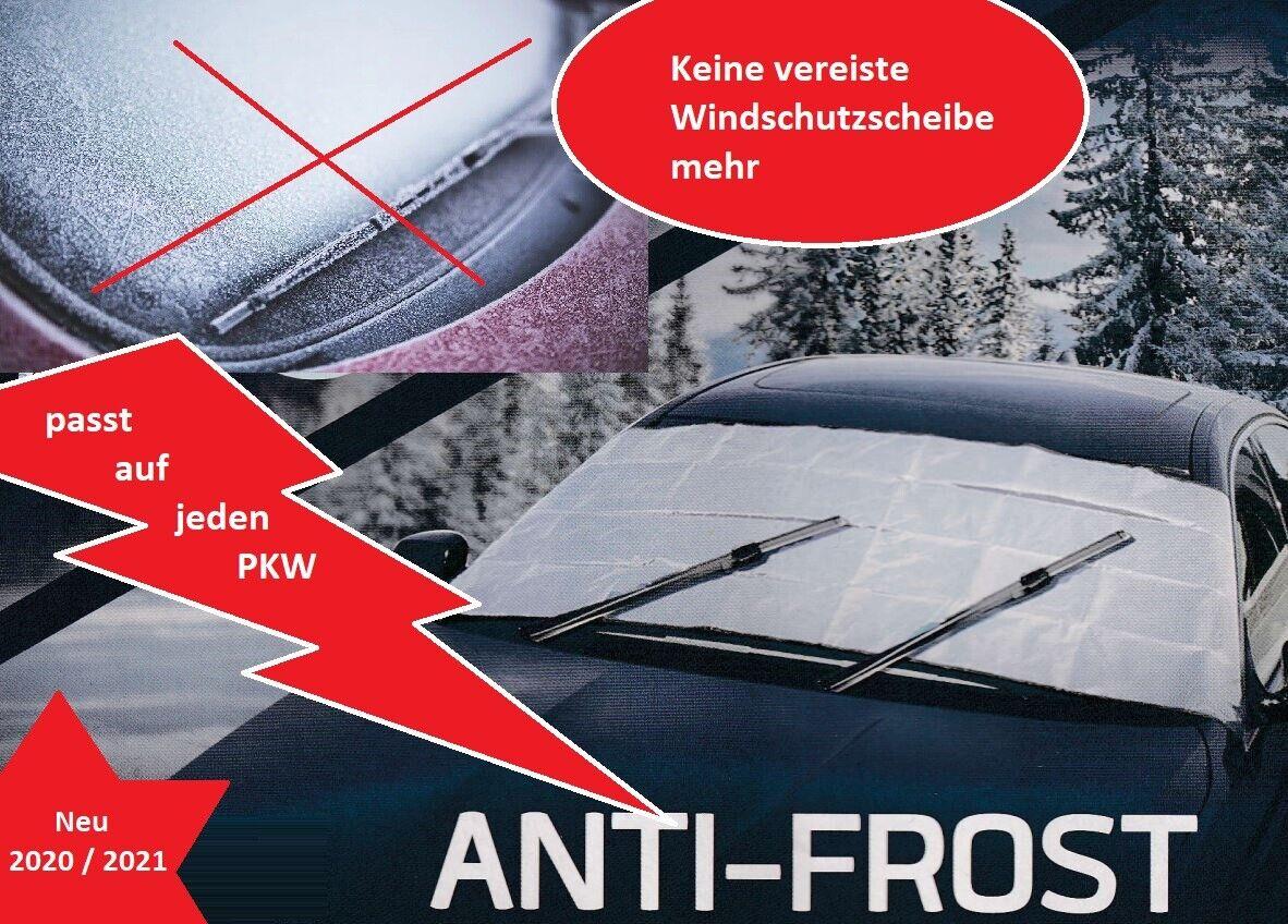 Frostabdeckung PKW Winter Frostschutz Abdeckung für Windschutzscheibe Anti Frost
