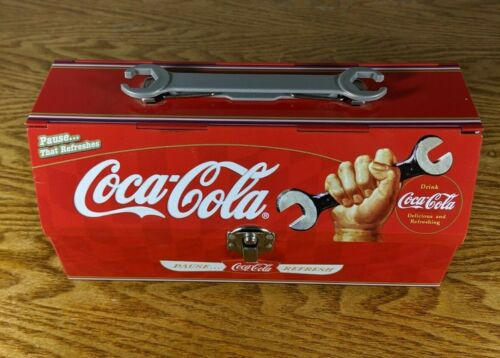 Rare ☆ Coca Cola Metal Lunchbox ☆ Perfect Shape ☆ A Great Piece to Collect ☆