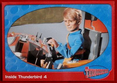 THUNDERBIRDS - Inside Thunderbird 4 - Card #09 - Cards Inc 2001