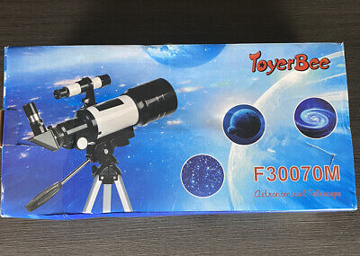 ToyerBee Telescope For Kids and Beginners, 70mm Aperture 300mm Astronomical