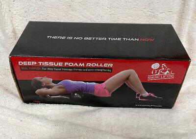 Nordic Lifting Foam Roller Best Muscle Massage Deep Tissue Trigger