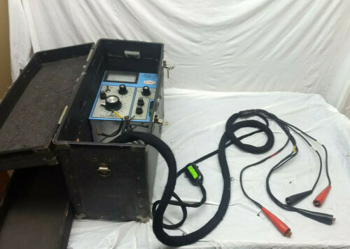 Utec Model 452 Portable WHM Test Kit with Leads and Case (#2)