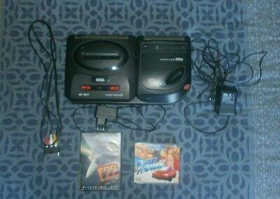 Sega Megadrive 2-Mega CD 2 + 1 jeux Megadrive et 1 jeux Mega CD Tout fonctionnel