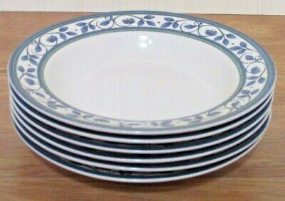 Pfaltzgraff Orleans  Rimmed Soup/Pasta Bowls   Set of 4 Pfaltzgraff Orleans