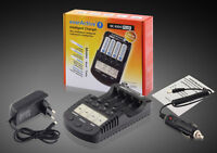 Caricabatterie Intelligente Everactive 1000 Plus + 4 Eneloop Aa 2000 - intel - ebay.it