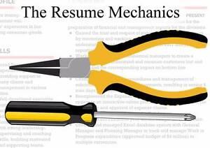 The Resume Mechanics Sydney City Inner Sydney Preview