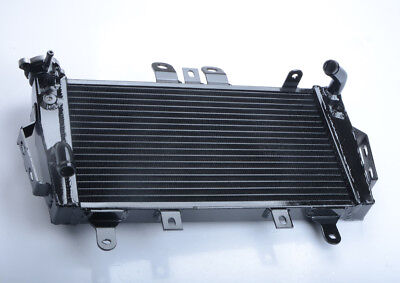 BLACK ALUMINUM RACING RADIATOR FOR TRIUMPH TIGER 1050 2007