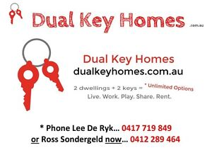 Dual living + Dual income + Dual occupancy = Dual Key Homes Blacktown Blacktown Area Preview