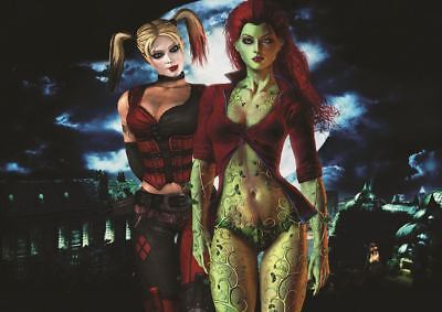 QUINN POISON IVY PRINT ART POSTER PICTURE A3 SIZE GZ1384 (Arkham Harley)