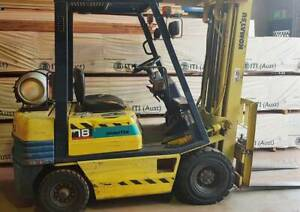 Komatsu 1800kg LPG forklift with container mast and sideshift Malaga Swan Area Preview