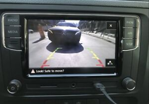 New oem volkswagen radio camera with carplay and android auto