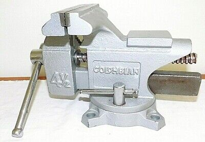 Unused Columbian 4-12 Swivel Workshop Bench Vise 4 Jaws Excellent Condition