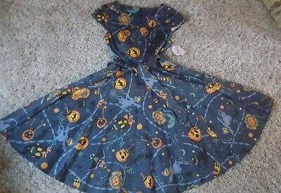Rockabilly 50's Style Halloween Print Dress by Golightly  Vintage Retro NWT