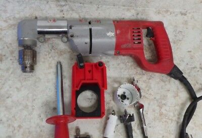 Milwaukee 1107-1 12 Heavy Duty Two Speed Right Angle Drill Wcase 58845-1 J-2