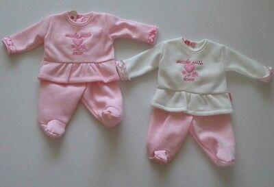 Premature preemie tiny baby girls clothes two piece set 3-5 lbs 5-8lbs BNWT