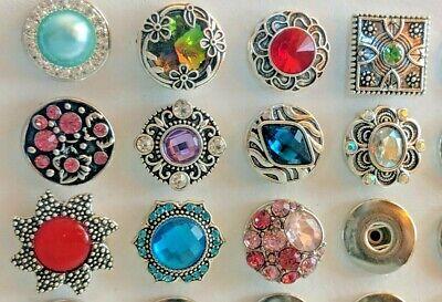 Ginger Snap On 18mm Charms Buttons For Bracelet, Rings, Pendants - Ginger Snap Rings