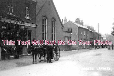 HF 829 - High Street, Abbots Langley, Hertfordshire - 6x4 Photo