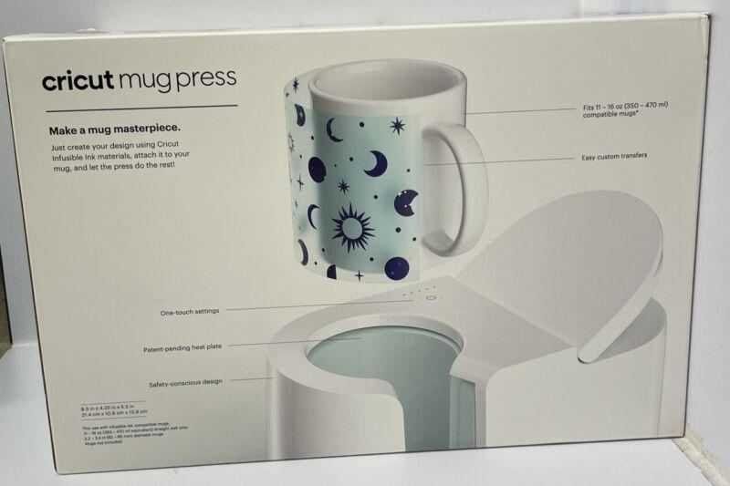 Cricut 2007804 Mug Heat Press White