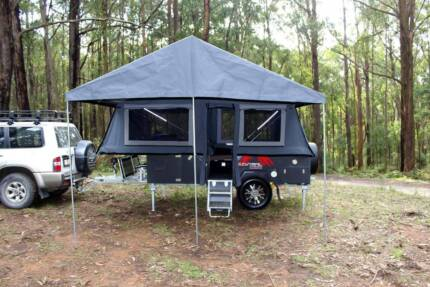 New Coorong GT- Forward Fold hard floor Camper Trailer