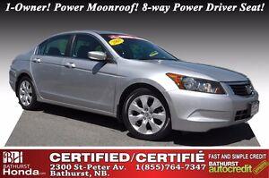 2008 Honda Accord Sedan EX LOW PRICE! Power Moonroof! 8-way Powe