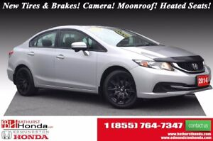 2014 Honda Civic Sedan EX New Tires & Brakes! Push Start! Backup