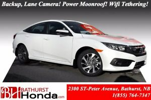 2016 Honda Civic Sedan EX Power Moonroof! Backup and Lane Camera