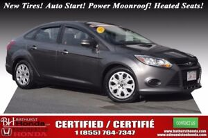 2014 Ford Focus SE New Tires! Auto Start! Power Moonroof! Heated