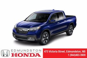 2018 Honda Ridgeline TOURING In Bed Truck Audio System! Leather!