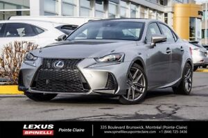 2017 Lexus IS 300 FSPORT SERIES 2 F-SPORT SERIES 2 NAVIGATION VE