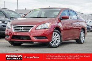 2015 Nissan Sentra SV MAGS BACKUP CAMERA LOW KM CERTIFIED