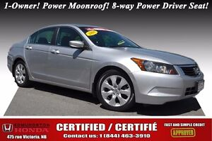 2008 Honda Accord Sedan EX LOW PRICE! Power Moonroof! 8-way Powe