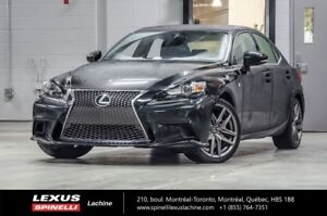 2015 Lexus IS 250 F SPORT II AWD; *** RESERVE / RESERVED *** LOW