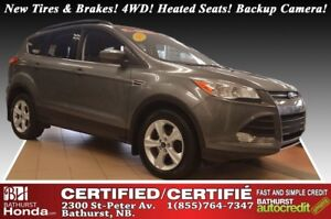 2014 Ford Escape SE - 4WD New Tires & Brakes! 4WD! Heated Seats!