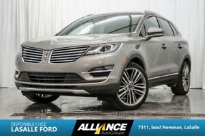 2016 Lincoln MKC RESERVE AWD  CAMERA   GPS   SIEGES CHAUFF & A/C