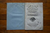 Libro Lettera Inedita Gesuiti Gesù Chiesa Roma Padre Caramelli Venezia 1767 -  - ebay.it