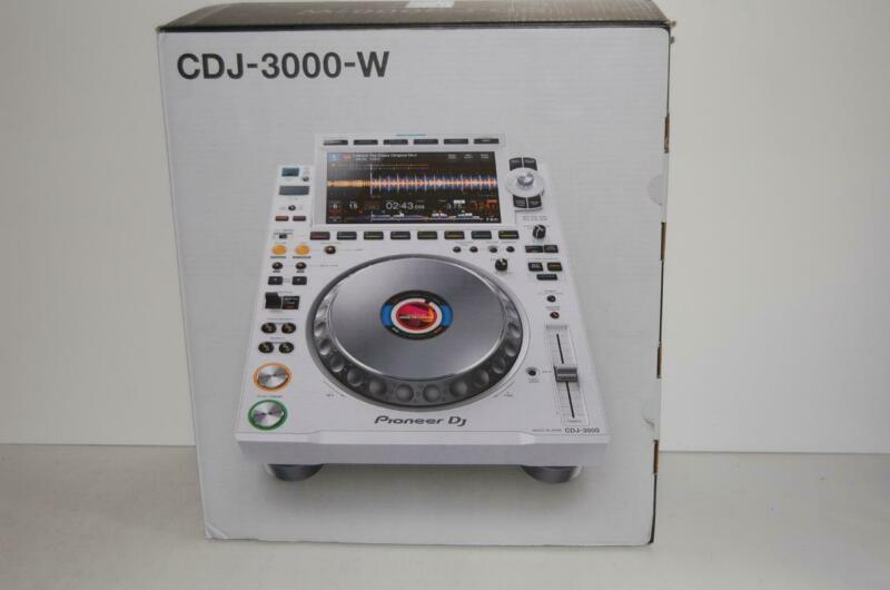 Pioneer CDJ 3000 White Limited Edition CD/USB Pro turntable NEW IN BOX L@@@K!