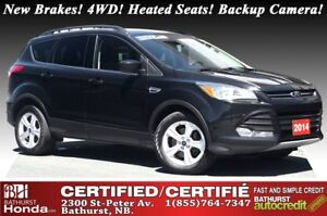 2014 Ford Escape SE - 4WD New Brakes! 4WD! Heated Seats! Backup