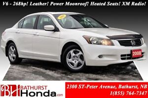 2008 Honda Accord Sedan EX-L - V6 V6 - 268hp! Leather! Power Moo